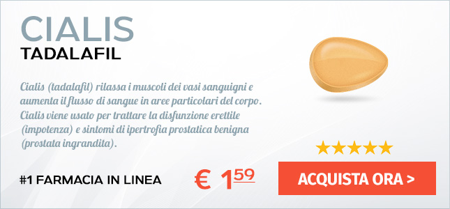 Comprare Cialis 2.5 mg Generico Online